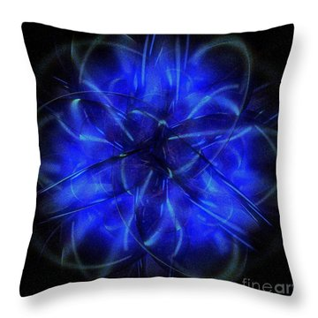 Cosmic Light Throw Pillow