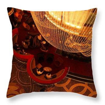 Cosmopolitan Las Vegas Throw Pillow