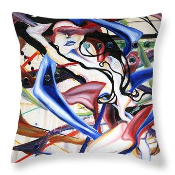 Cosmopolitan Throw Pillow by Sheridan Furrer