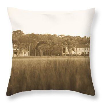 Throw Pillow featuring the photograph Country Estate by Shannon Harrington