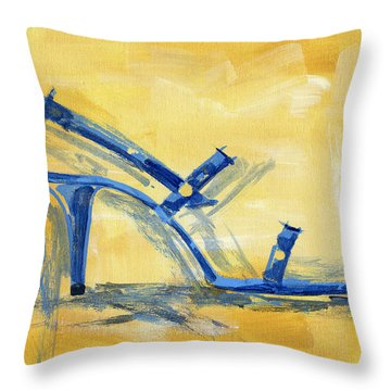 Country Faire Throw Pillow by Richard De Wolfe
