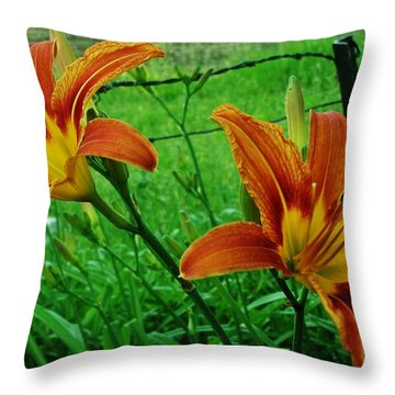 Tigerlily Throw Pillows