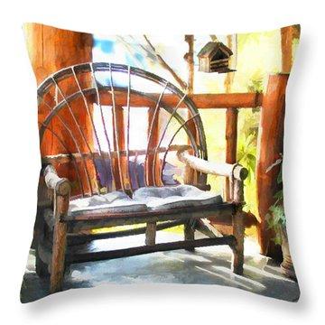 Cozy Corner Throw Pillow