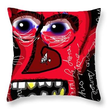 Crackhead 2 Throw Pillow
