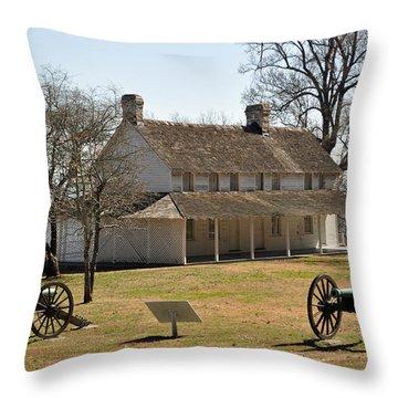 Cravens House Lookout Mountain Throw Pillow