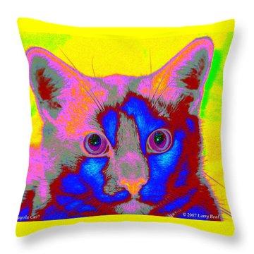 Crayola Cat Throw Pillow