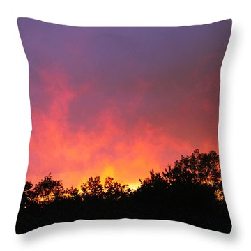 Crepuscule Throw Pillow