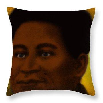 Crispus Attucks, African-american War Throw Pillow by Photo Researchers