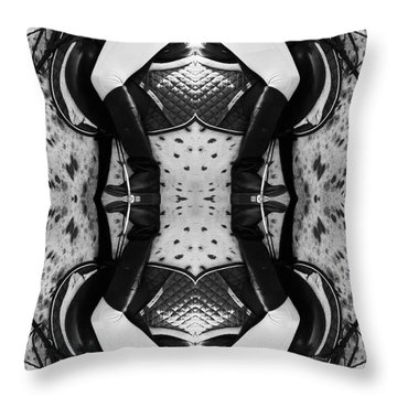 Crosby Lexington Tc Event Throw Pillow by Betsy Knapp