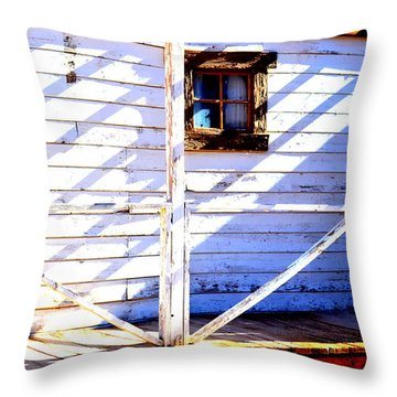 Cross Purposes  Throw Pillow