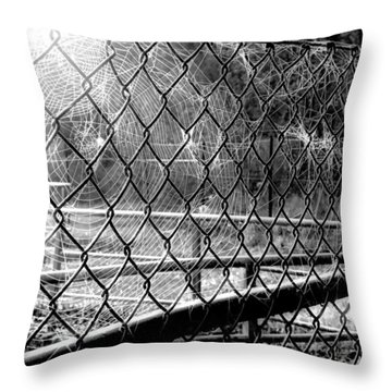 Crosslinked - Vernetzt Throw Pillow by Mimulux patricia no No