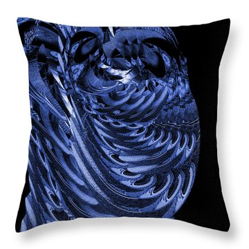 Cryptic Triptych I Throw Pillow