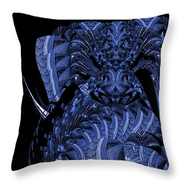 Cryptic Triptych  IIi Throw Pillow