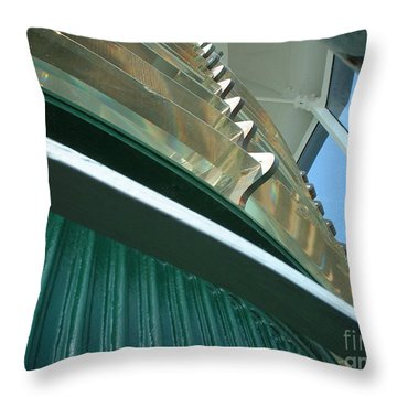 Throw Pillow featuring the photograph Crystal Lights by Mark Robbins