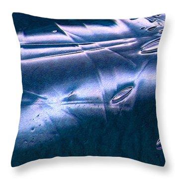 Crystalline Entity Panel 1 Throw Pillow by Peter Piatt