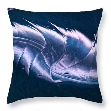 Crystalline Entity Panel 2 Throw Pillow by Peter Piatt