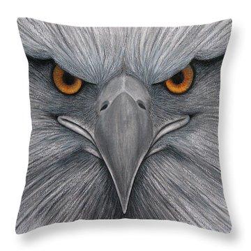 Cuauhtli Throw Pillow