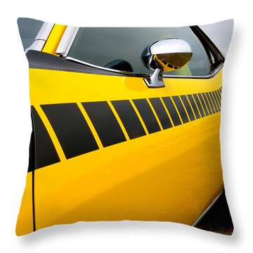 Cuda Stripes Throw Pillow