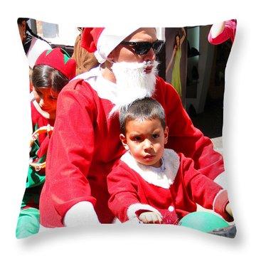 Cuenca Kids 154 Throw Pillow by Al Bourassa