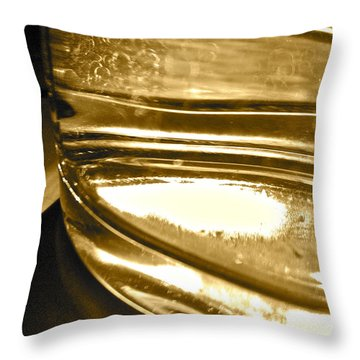 Throw Pillow featuring the photograph cup IV by Bill Owen