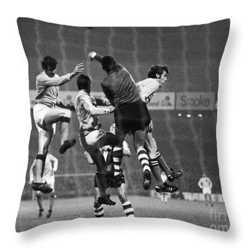 Cup Winners Cup, 1969 Throw Pillow by Granger