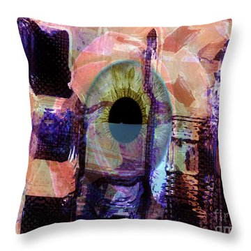 Curiosity Throw Pillow by Fania Simon