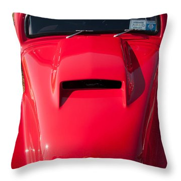Curves Throw Pillow by Guy Whiteley