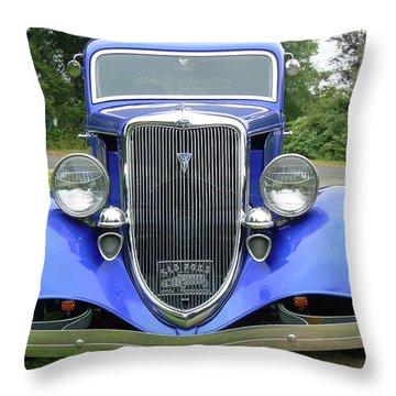 Custom 34 Throw Pillow by Pamela Patch