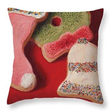 Cutouts Throw Pillow
