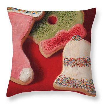 Cutouts Throw Pillow
