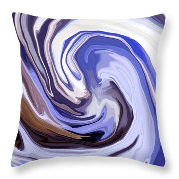 Cyclone Throw Pillow by Chris Butler