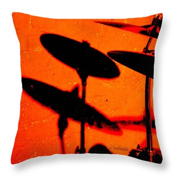 Cymbalic Throw Pillow