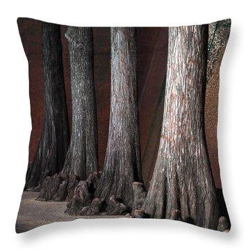 Cypress Throw Pillow by Greg Kopriva