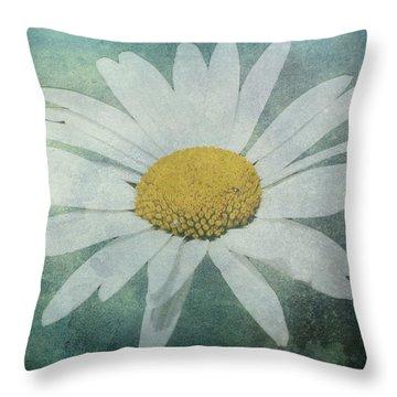 Daisy Throw Pillow by Dawn OConnor