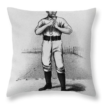 Dan Casey (1862-1943) Throw Pillow by Granger