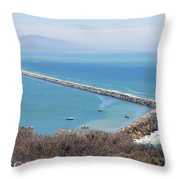 Throw Pillow featuring the photograph Dana Point California 9-1-12 by Clayton Bruster