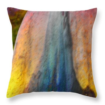 Throw Pillow featuring the digital art Dance Through The Light by Richard Laeton