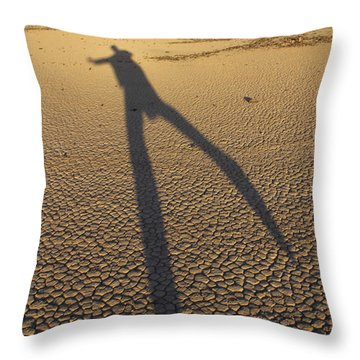 Dancing Fool Throw Pillow