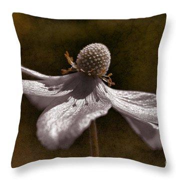 Dancing In The Breeze Throw Pillow by Deborah Benoit