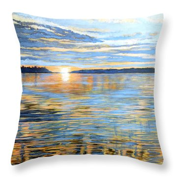Davidson Quebec Throw Pillow
