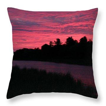 Dawn Glory Throw Pillow by Richard De Wolfe