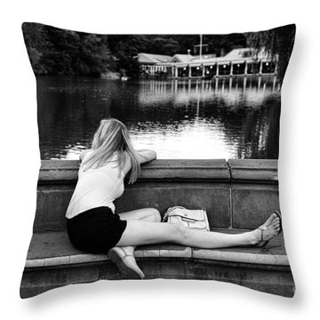 Day Dreamer Throw Pillow by Paul Ward
