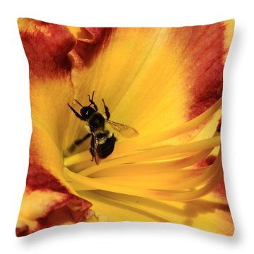 Day Lilly IIi Throw Pillow