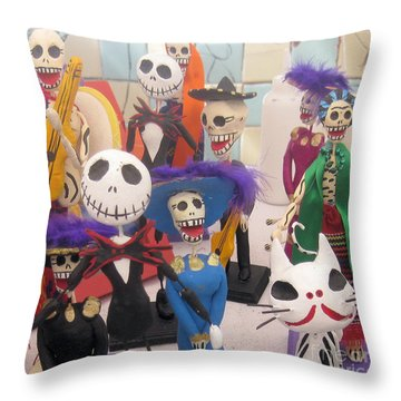 Day Of The Day 2 Throw Pillow