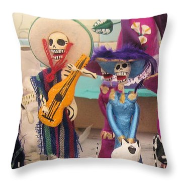 Day Of The Dead 6 Throw Pillow