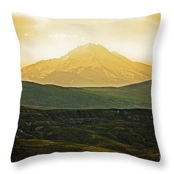 Daybreak Throw Pillow by Andrew Paranavitana