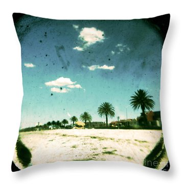 Daydream Throw Pillow by Andrew Paranavitana