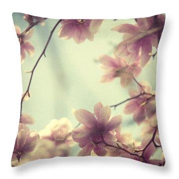 Daydream Believers Throw Pillow by Irene Suchocki