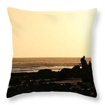 Days End Throw Pillow