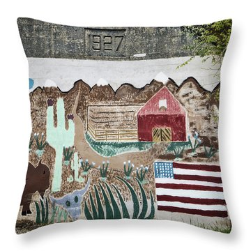 Days Gone By Throw Pillow by Joan Carroll